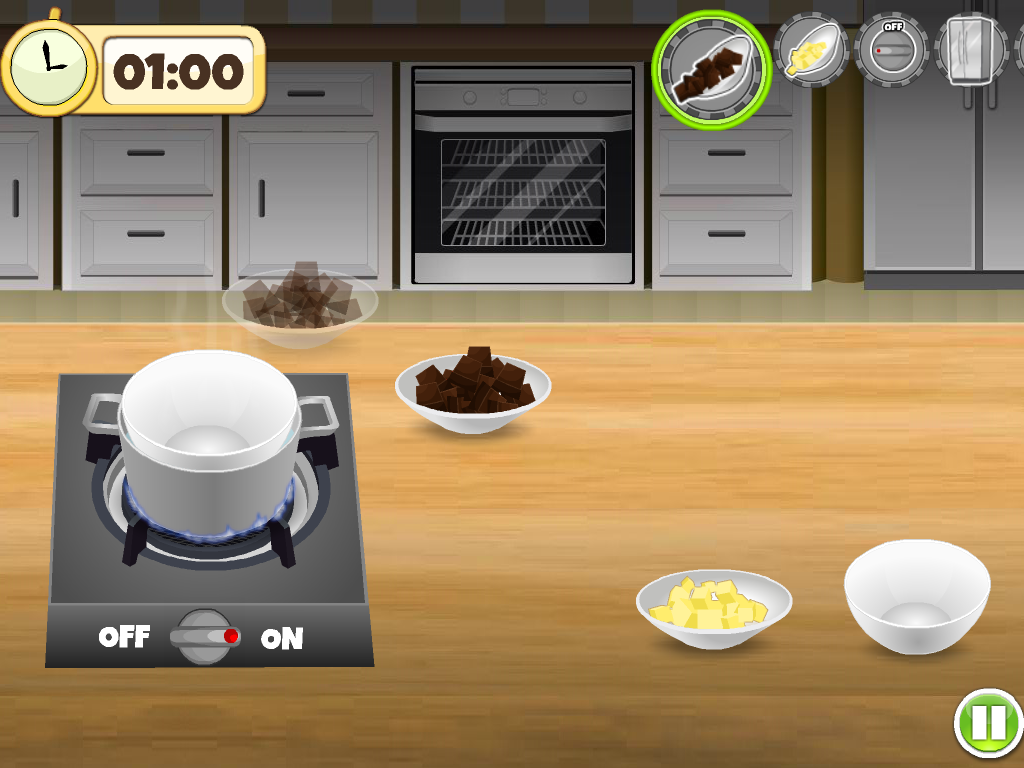 Yummy Chef - Black Forest Cake - screenshot