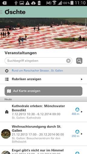 Oschte – Region St.Gallen screenshot