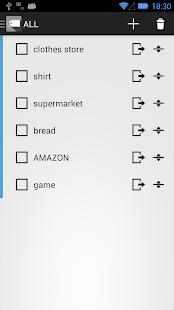 Fast Shopping List(買い物チェックリスト)