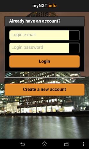 MyNXT Online Wallet