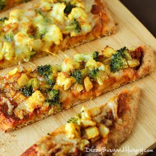 Curried Veggie Pizza.