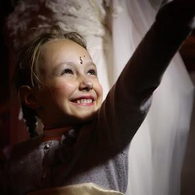 Smiling Child by VAM Photography - Babies & Children Children Candids ( child, parade, girl, nyc, halloween,  )