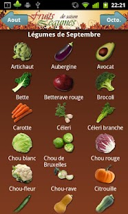 Fruits et Légumes de Saison- screenshot thumbnail