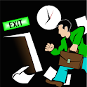 Exit IN timE icon