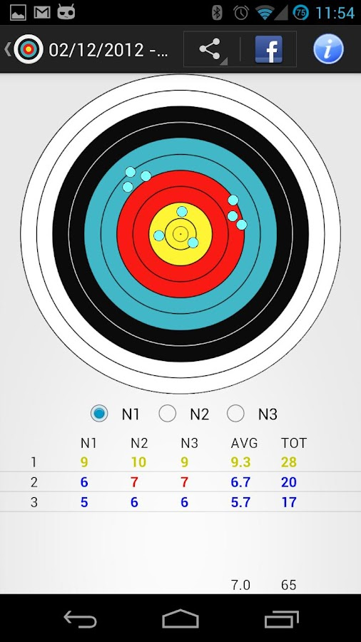 Archery Stats- screenshot