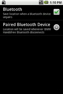 Car Locator Bluetooth Plugin - screenshot thumbnail