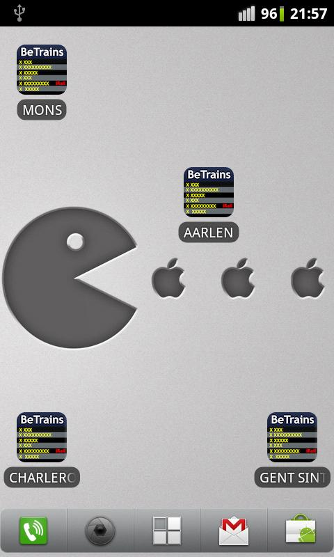 BeTrains Shortcuts - screenshot