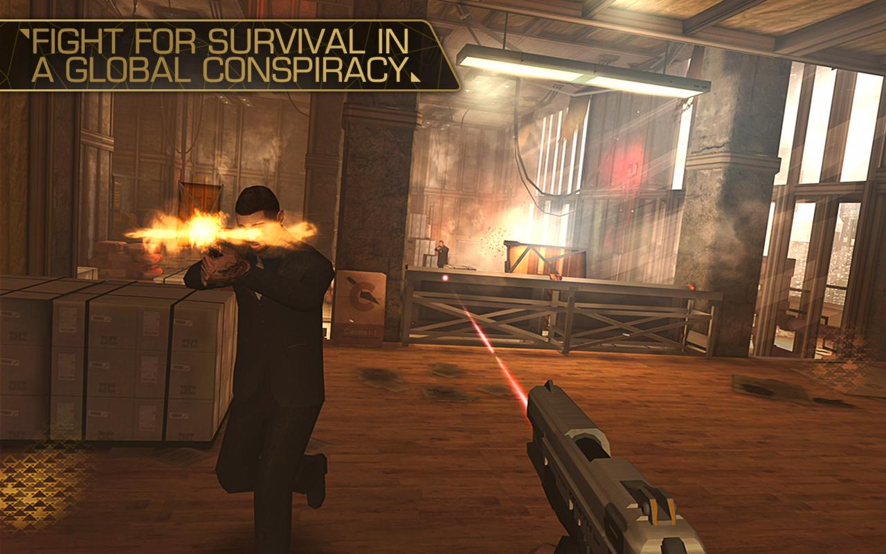 Deus Ex: The Fall- screenshot