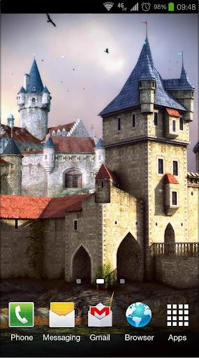 Castle 3D Free live wallpaper