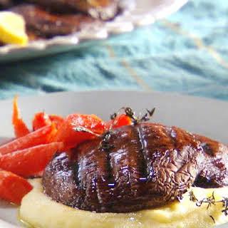 Grilled Portobello Mushroom Steaks.