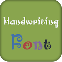 Handwriting Fonts Install Free icon