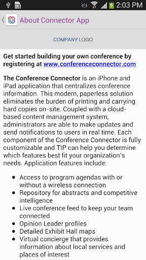 Conference Connector