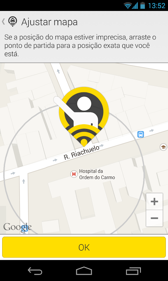 99Taxis - Taxi in 5 minutes - screenshot