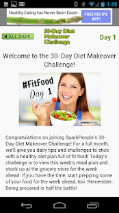 30-Day Diet Makeover Challenge- screenshot thumbnail