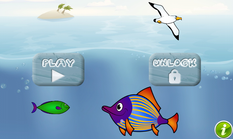 Puzzle for Toddlers Sea Fishes- screenshot