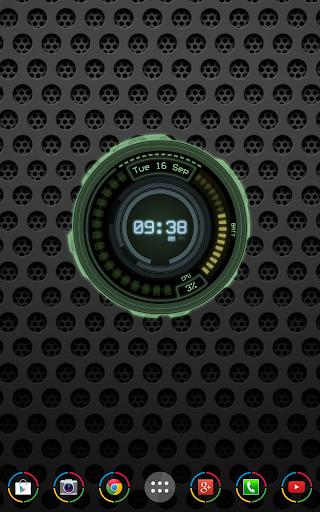 AHL Sci-Fi System Clock Pro