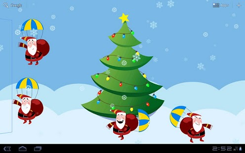 Funny Santas & Christmas Tree- screenshot thumbnail