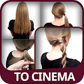 Hairstyles to the Cinema steps