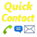 Quick Contacts logo