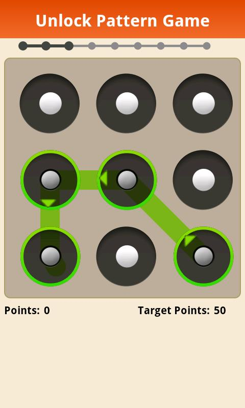 Unlock Pattern Game - screenshot