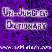 UnJumbler Dictionary