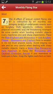 Feng Shui & Horoscope 2015 - screenshot thumbnail