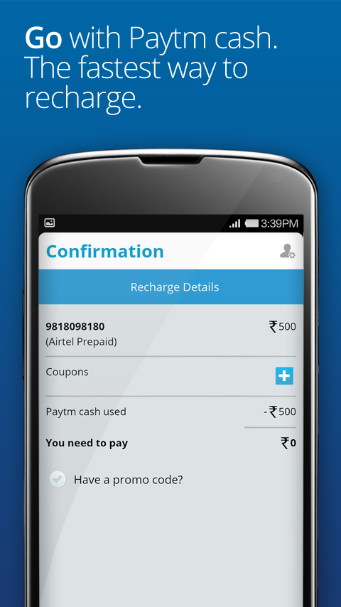 Mobile Recharge, DTH and Bills - screenshot