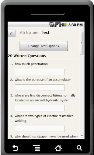 FAA A P Airframe Exam Prep