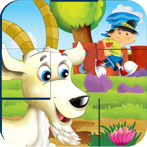 Cartoon Jigsaw drag puzzle for PC and MAC
