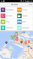 Screenshot of Abu Dhabi City Guide