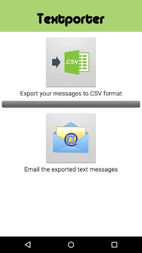 Textporter SMS text exporter