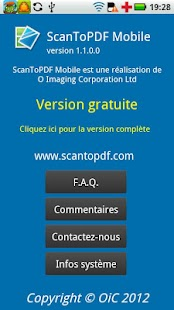 ScanToPDF Mobile Free- screenshot thumbnail