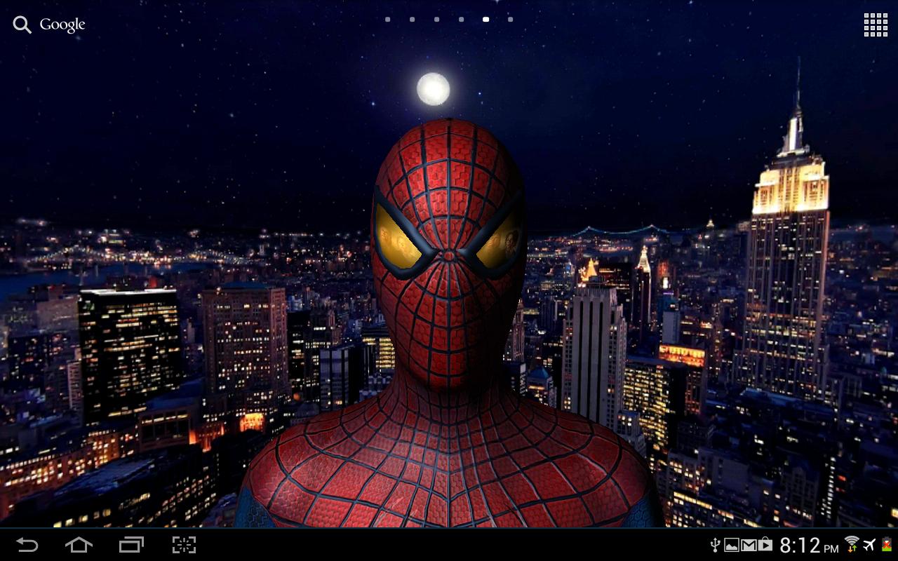 Amazing Spider-Man 3D Live WP - screenshot