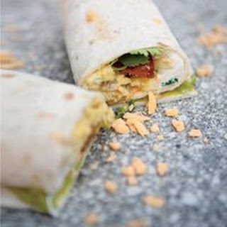 Spanish Breakfast Wraps.