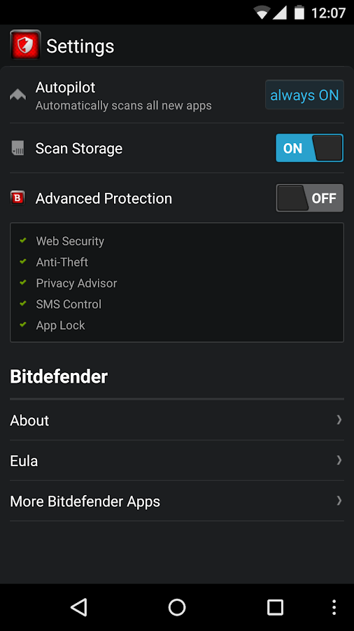 Bitdefender Antivirus Free- screenshot