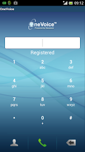 Nexwave OneVoice VoIP Softphon- screenshot thumbnail