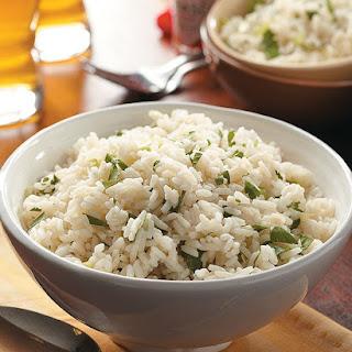 Parsley-Scallion Rice