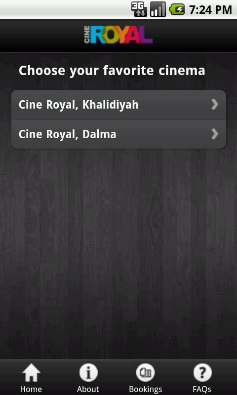 Cine Royal- screenshot