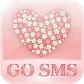App FlowerLove Theme GO SMS APK for Kindle