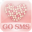 FlowerLove Theme GO SMS for Lollipop - Android 5.0