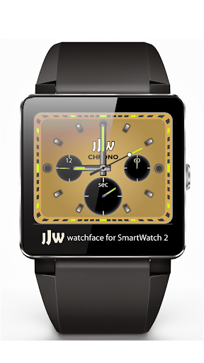 JJW Chrono Gold Watchface SW2