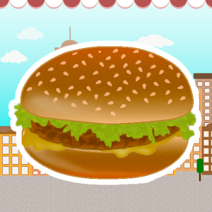 burger sales game for PC and MAC