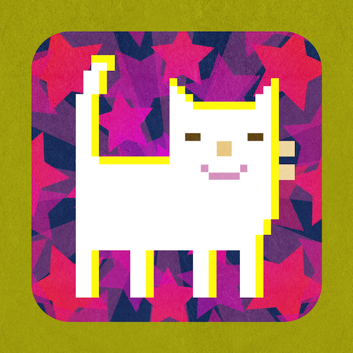 Pixel Cat Game LOGO-APP點子