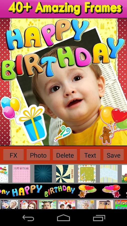 Happy Birthday Frames - screenshot