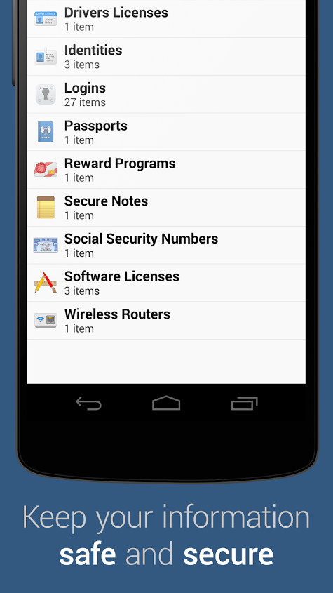 1Password - screenshot