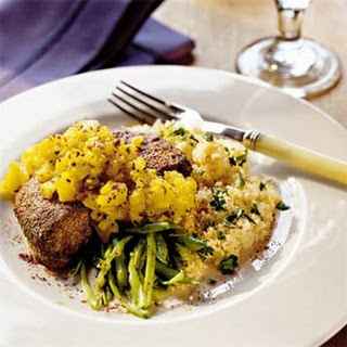 Pork Chops with Warm Pineapple Salsa