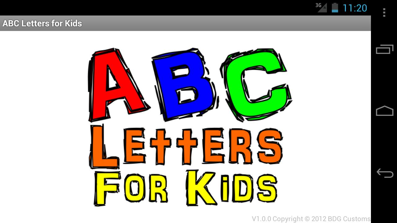 ABC Letters For Kids- screenshot