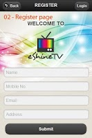 Screenshot of DreamTV