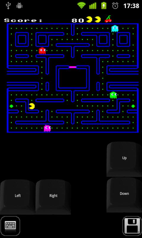 Beebdroid (BBC Micro emulator) - screenshot