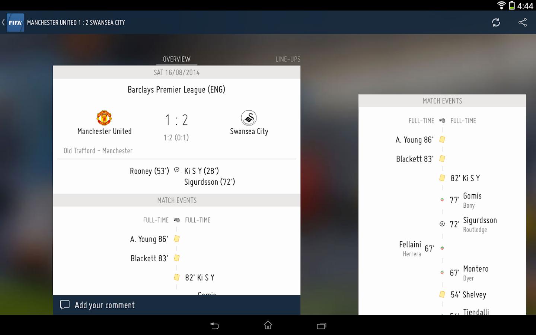 FIFA - screenshot